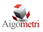 Aigometri AB logotyp
