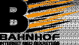 Bahnhof logotyp