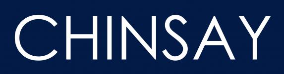 Chinsay AB  logotyp