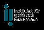Institutet för språk och folkminnen logotyp
