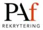 PAf Rekrytering PAf Rekrytering logotyp