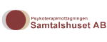 Psykoterapimottagningen Samtalshuset i Stockholm logotyp