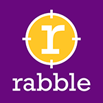 Rabble communications ab logotyp
