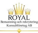 Royal Bemanning och rekrytering konsultföretag A logotyp
