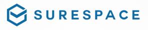 Surespace logotyp